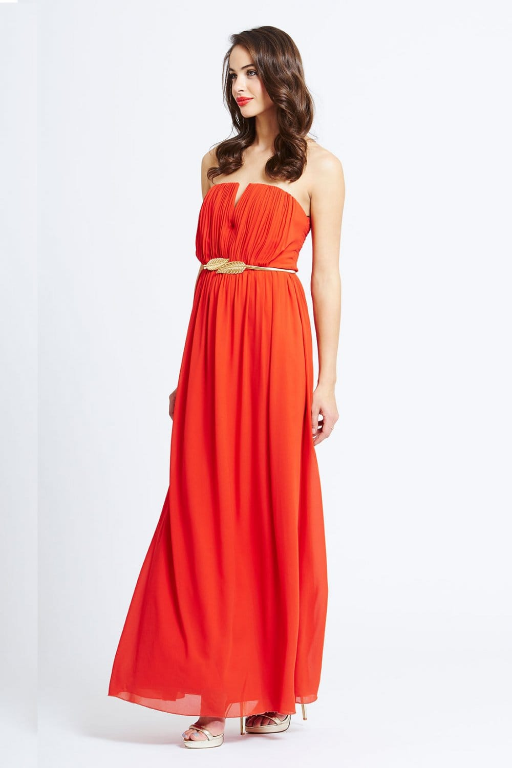 Find Orange chiffon dresses at ShopStyle. Shop the latest collection of Orange chiffon dresses from the most popular stores - all in one place.