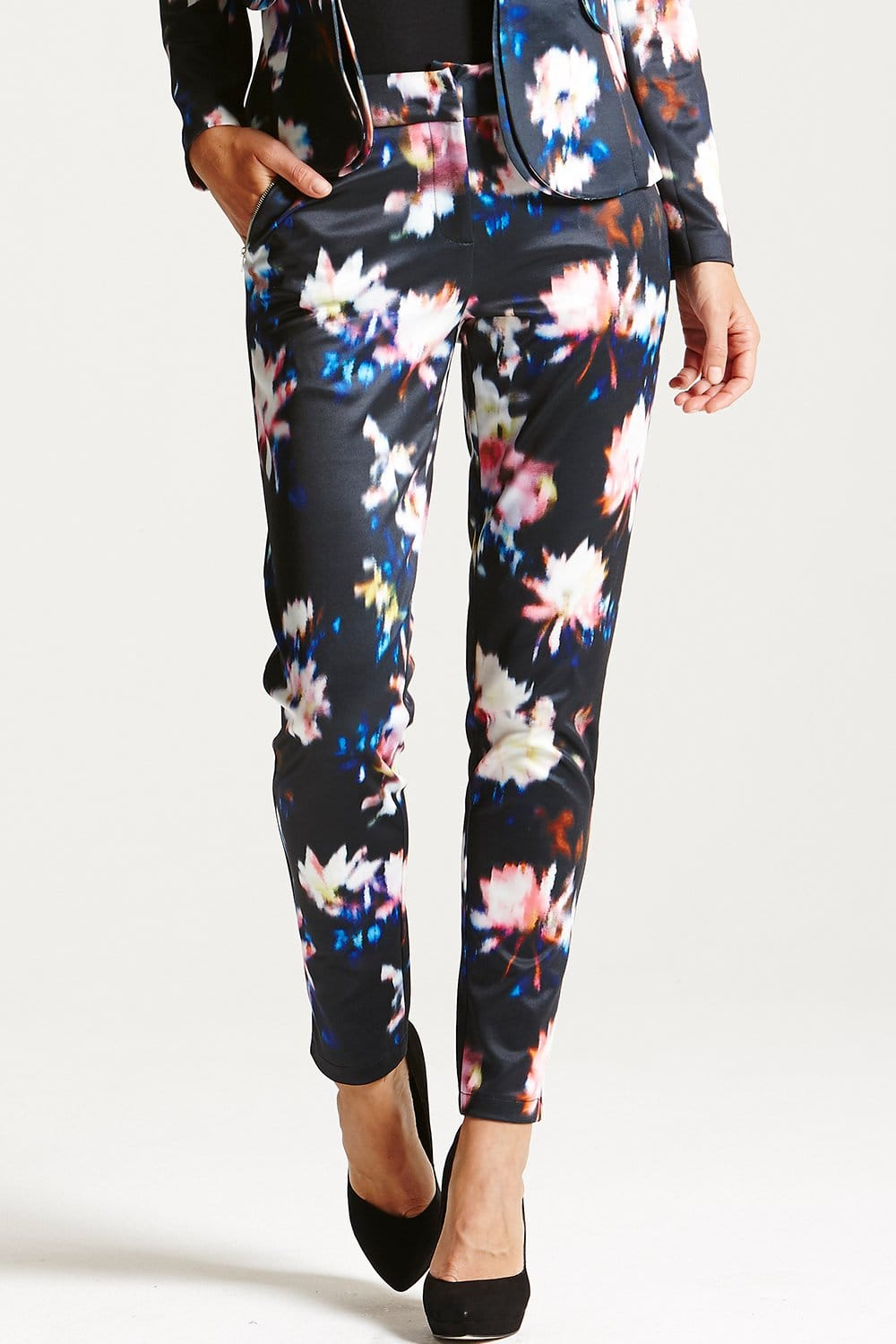 Paper Dolls marble jacquard trousers | ASOS