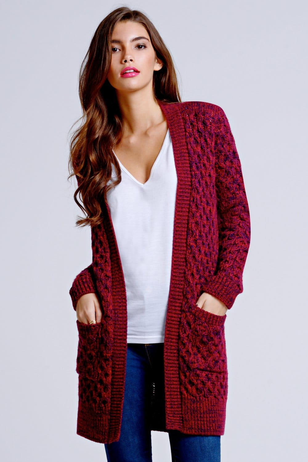 Shop for burgundy sweaters for women at celebtubesnews.ml Free Shipping. Free Returns. All the time.
