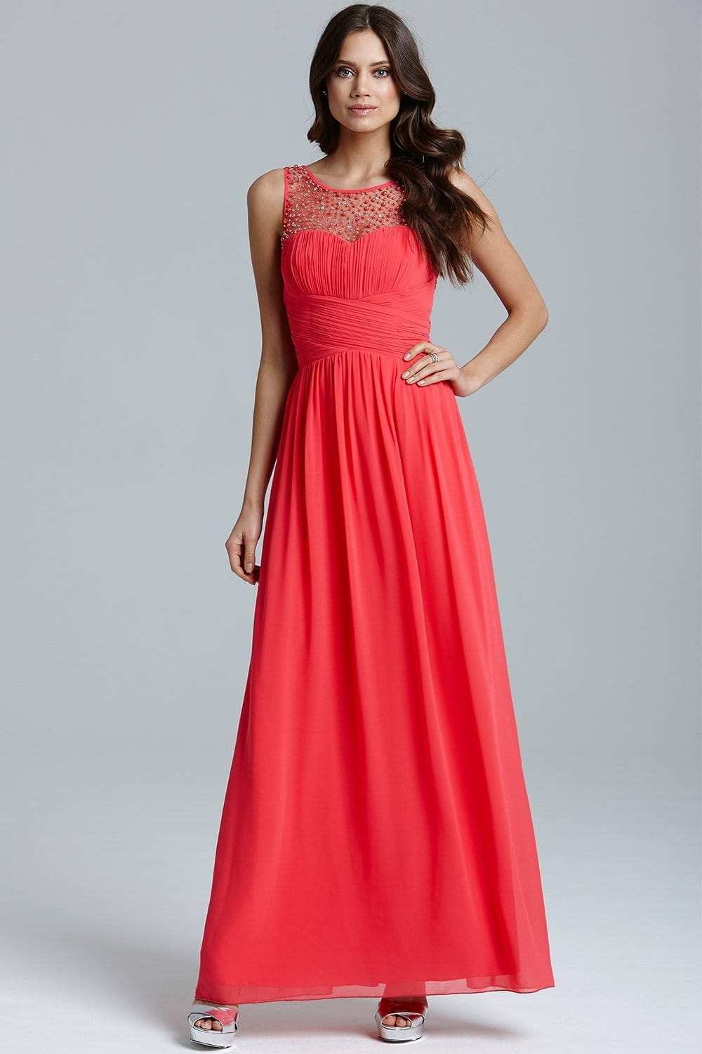 Images of Maxi Dress Coral - The Fashions Of Paradise