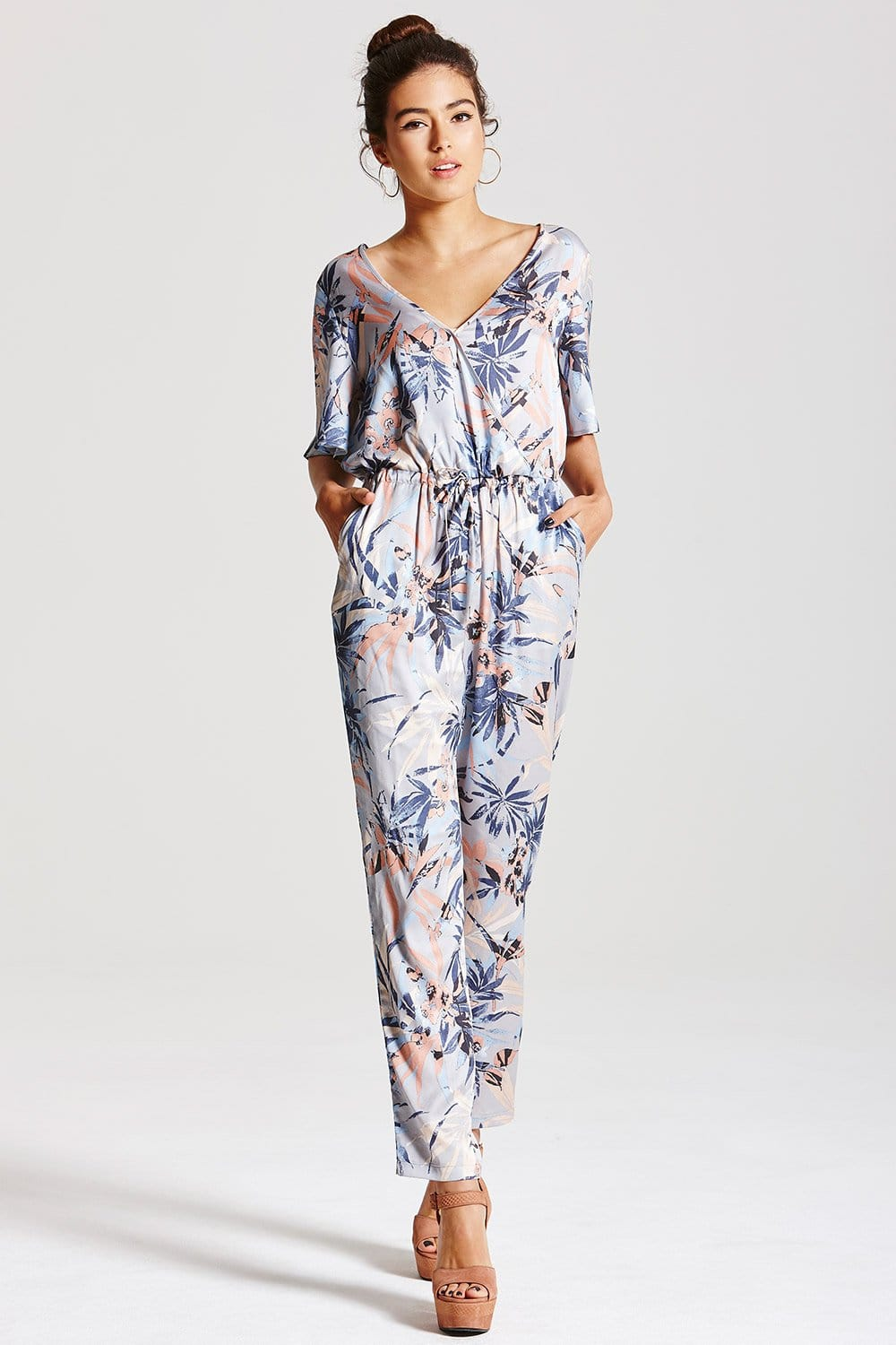 top-rated genuine fresh styles new product Outlet Girls On Film Pastel Floral Jumpsuit - Outlet Girls ...