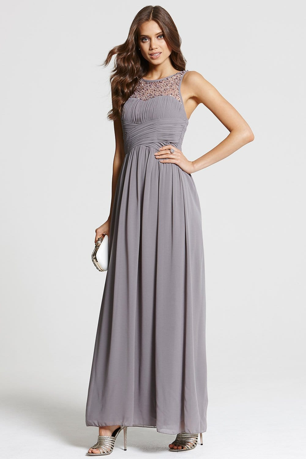 Find and save ideas about Grey dresses on Pinterest. | See more ideas about Floral dresses, Summer maxi dresses and Maxi dresses. Women's fashion. Grey dresses; Grey dresses. Floral dresses Long dark grey maxi dress, Gray dress with pockets and long sleeves, Modest full women's floor length dress, Navy Grey dress Maxi Dress Oooo yes.
