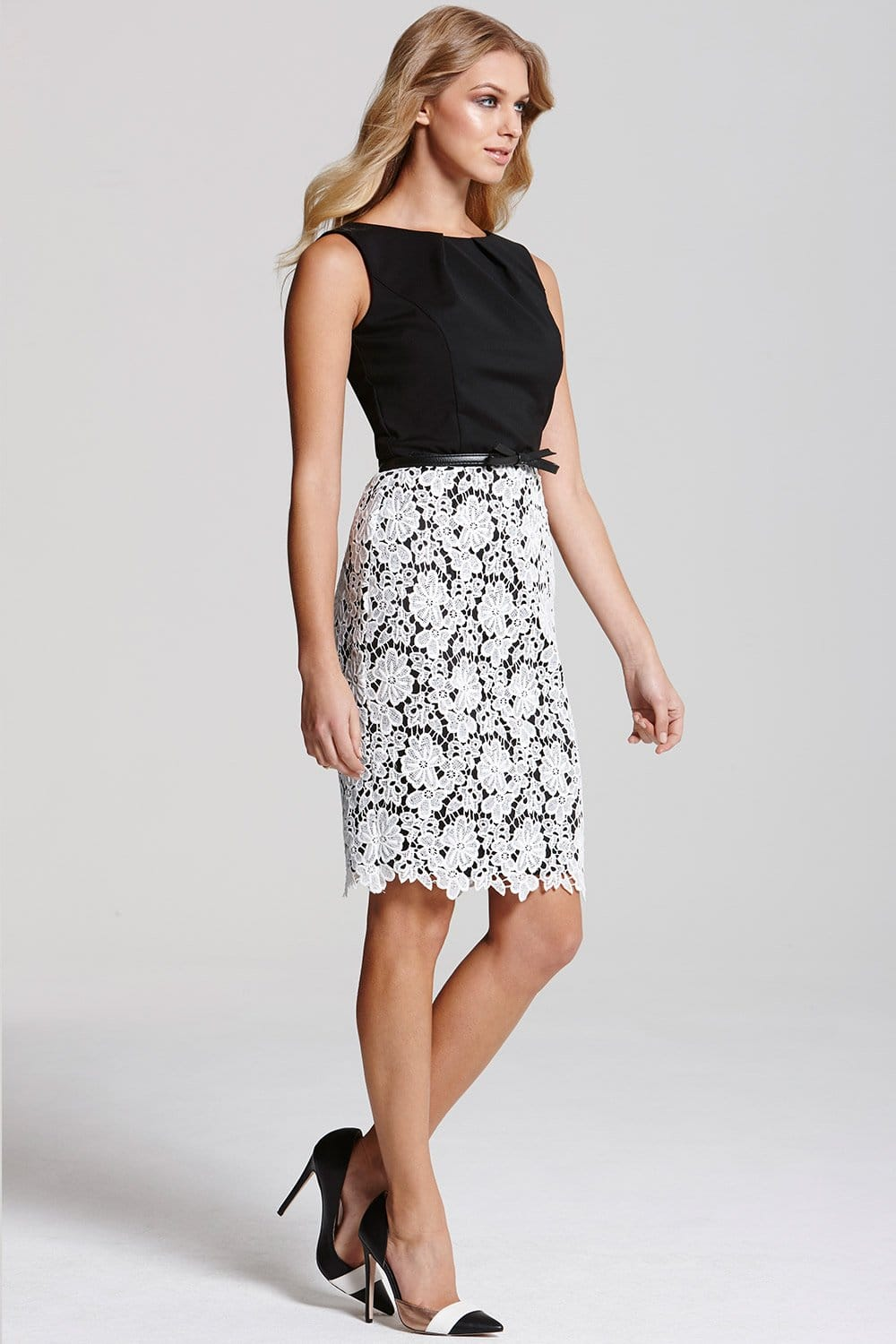 Wedding Black And White Lace Dress paper dolls black and white lace skirt dress from dress