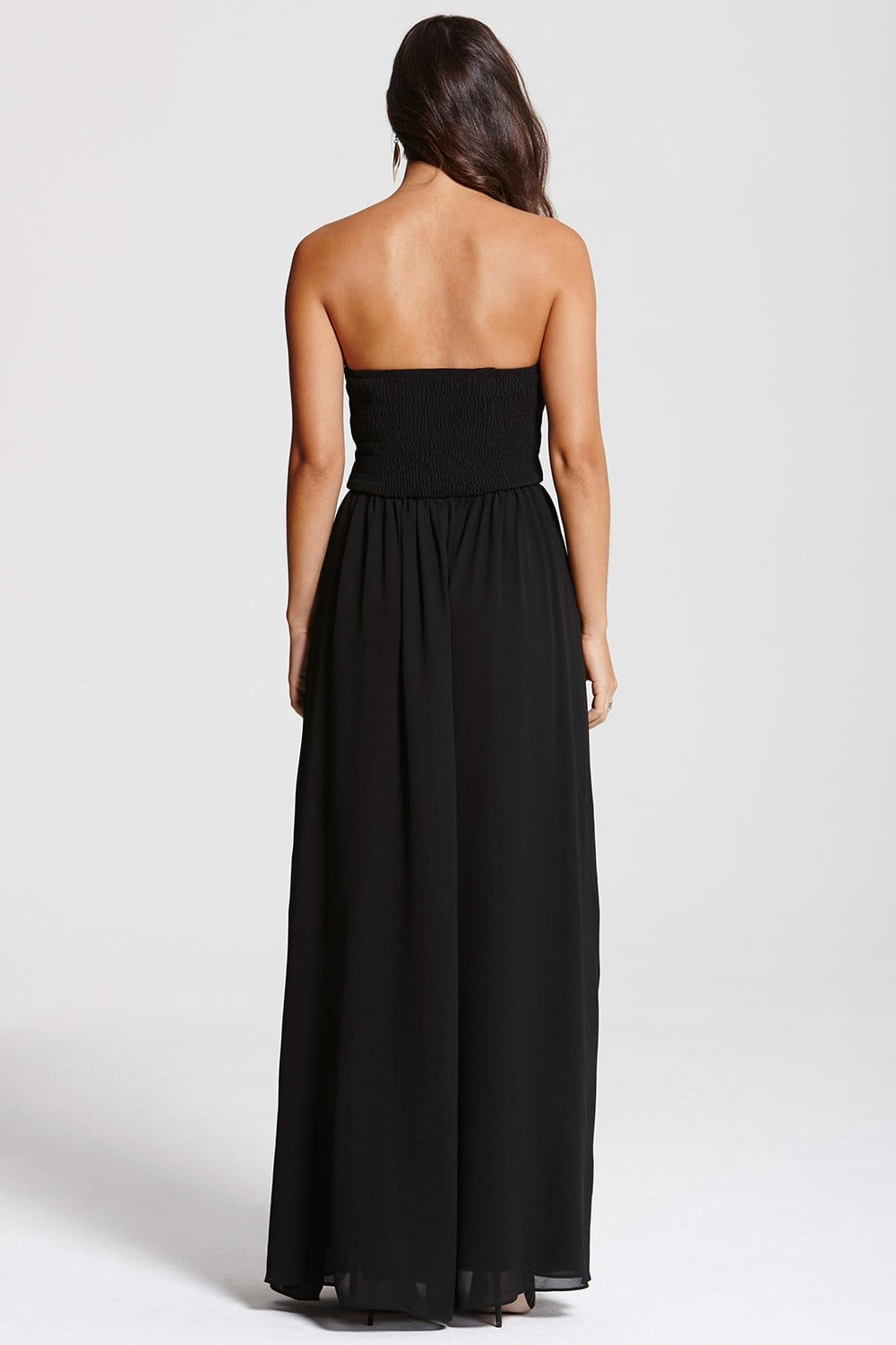 Black Embellished Maxi Dress From Little Mistress Uk