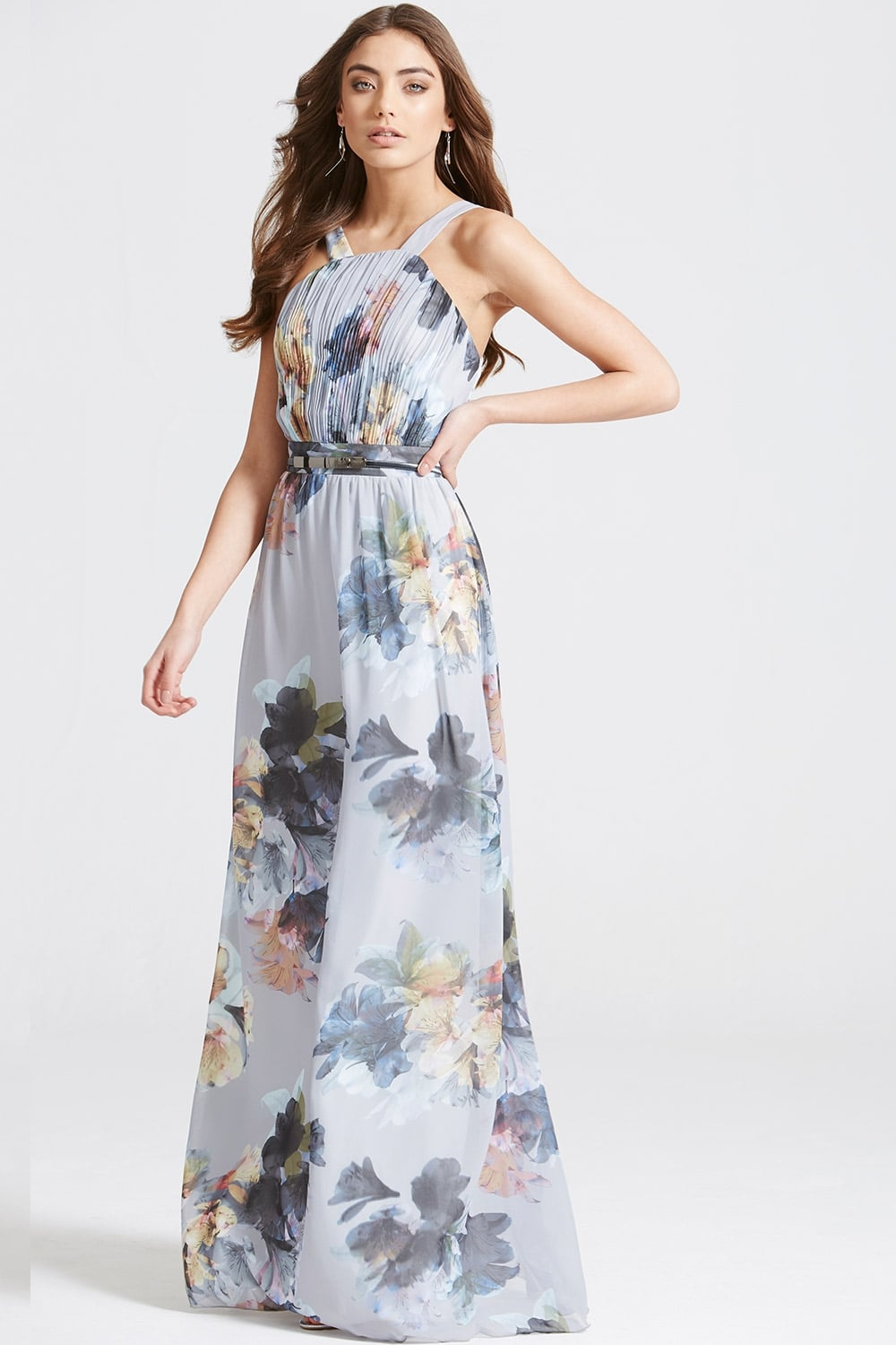 2f3da379a6 Floral Print Occasion Maxi Dress - from Little Mistress UK