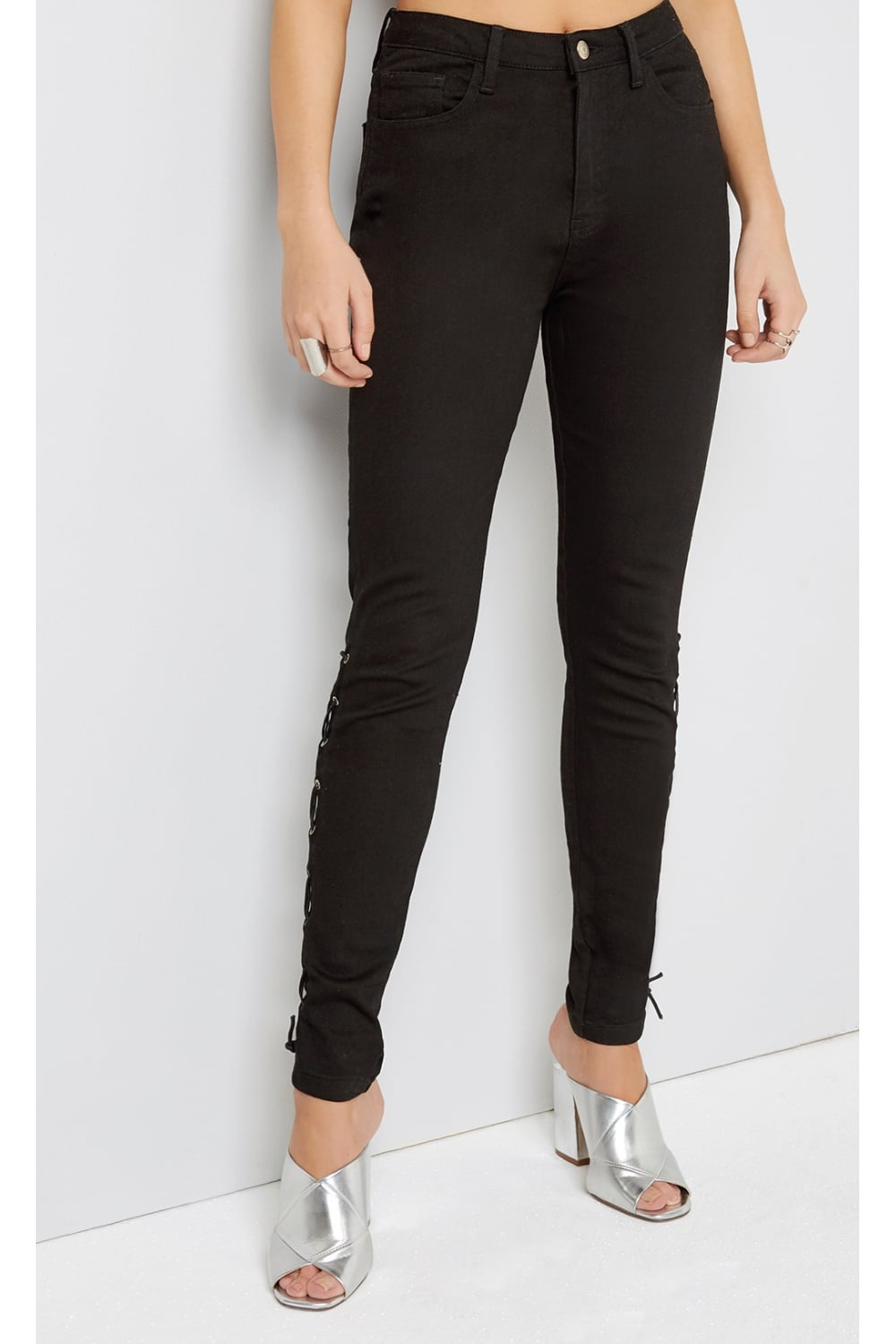 Outlet Girls On Film Girls On Film Black Jeans Outlet