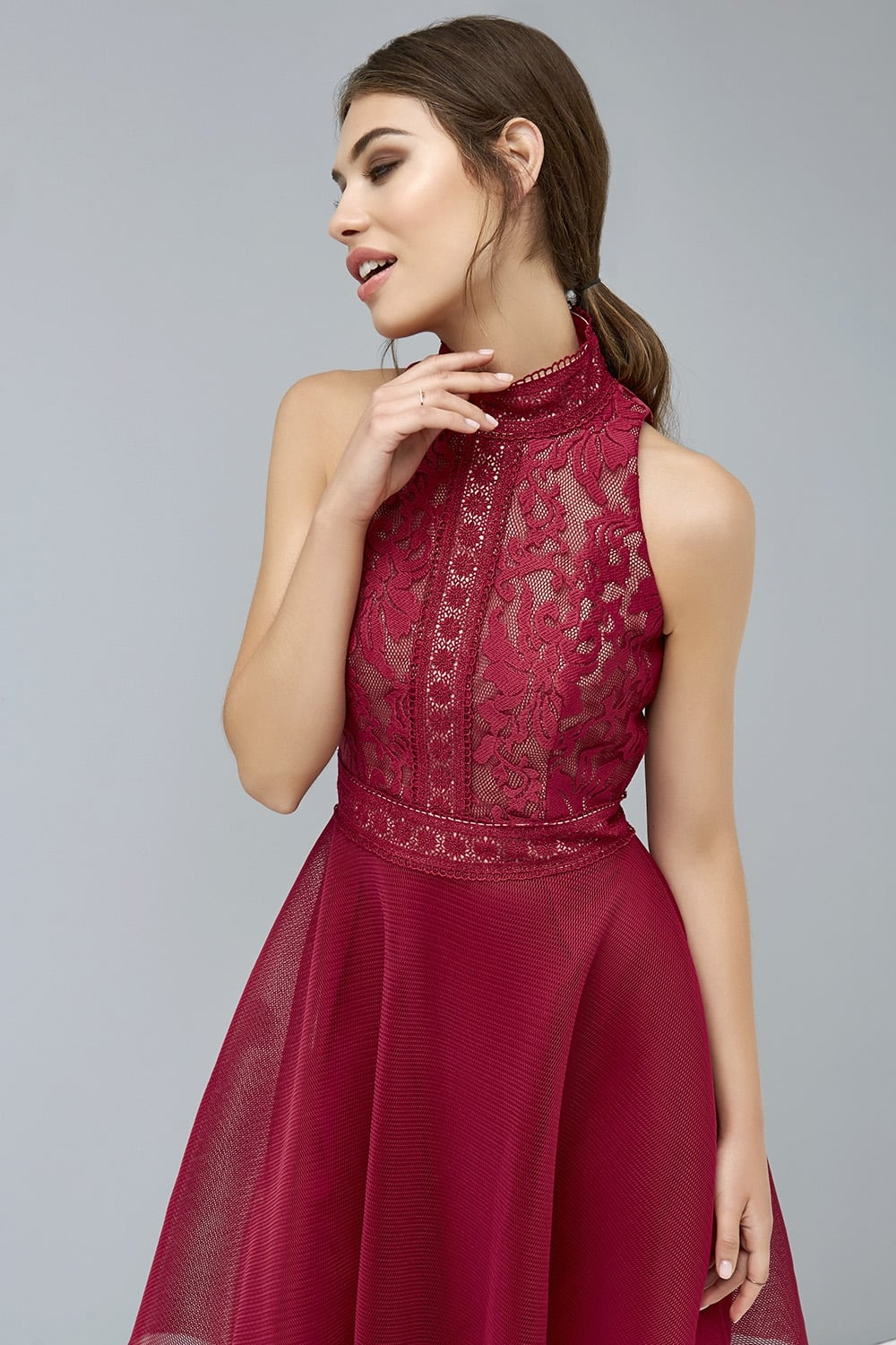 Berry Baroque Prom - from Little Mistress UK