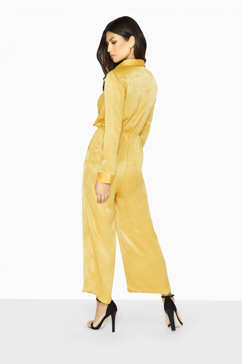 4b1b73e90b53 Outlet Girls On Film Liquid Gold Utility Jumpsuit - Outlet Girls On ...