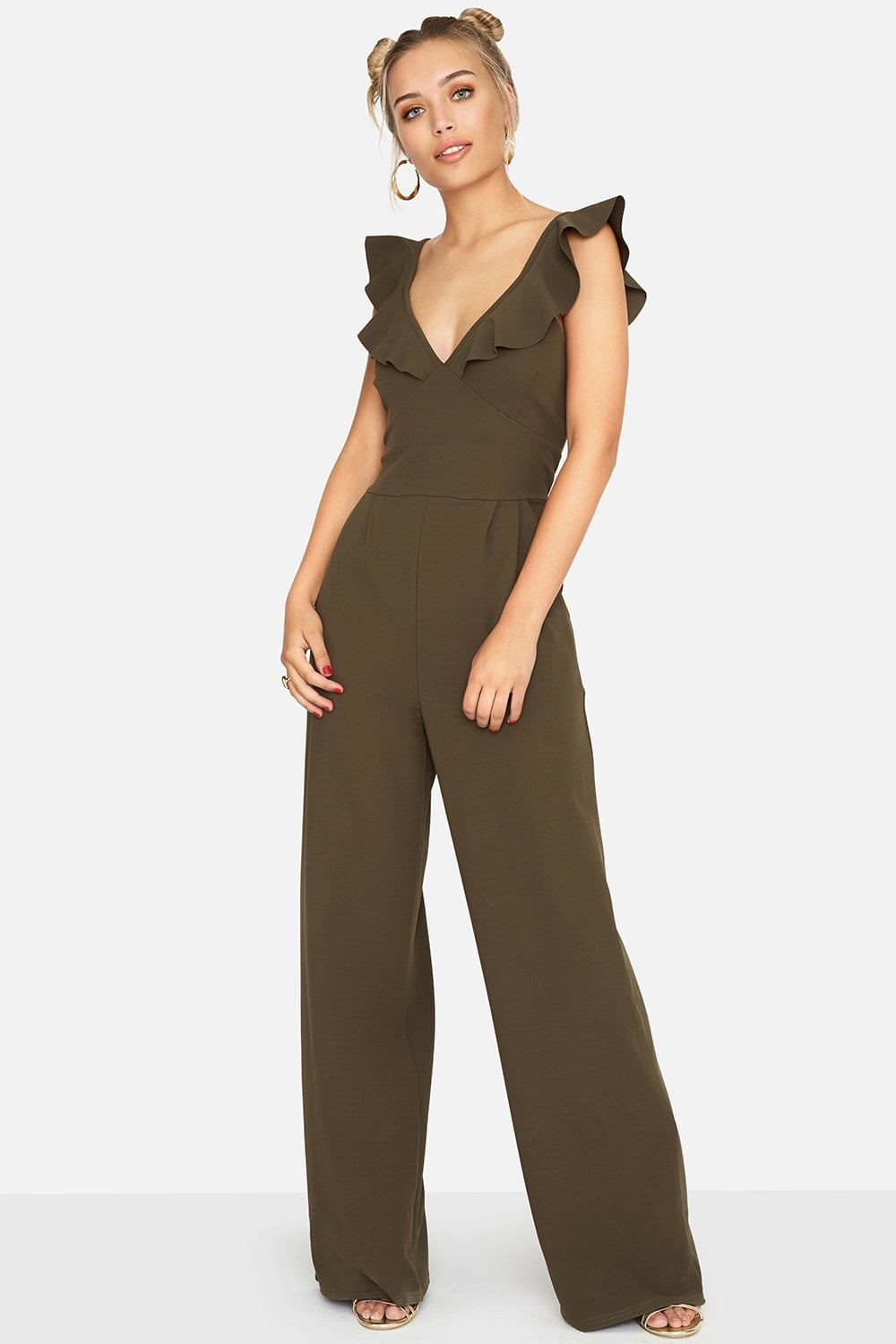 18ac738471f Outlet Girls On Film Sabor Frill Jumpsuit - Outlet Girls On Film from Little  Mistress UK